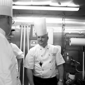 Nå er Lindqvist kjøkkensjef om bord på Stena Saga