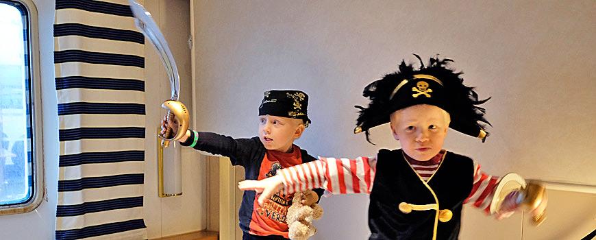 Barnas Båt Storm Herman og Albert er klare