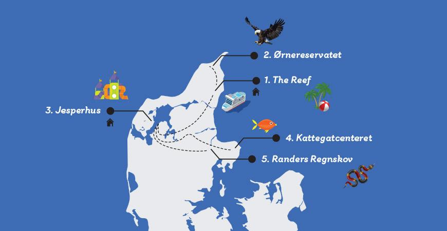 Kart Danmark