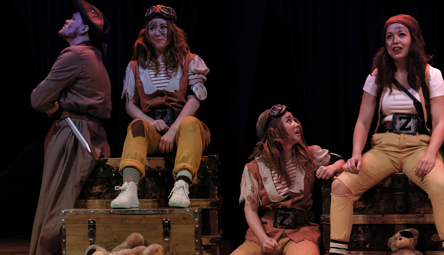 Piratshow i sommerferien